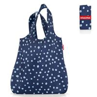 Сумка складная mini maxi shopper spots navy, Reisenthel